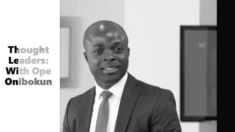 Thought Leaders: With Ope Onibokun, Head of Project Finance, ARISE Ports & Logistics
