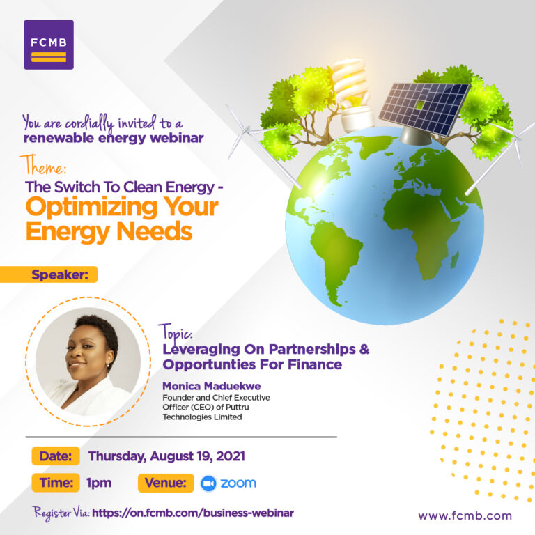 Financing the clean energy switch